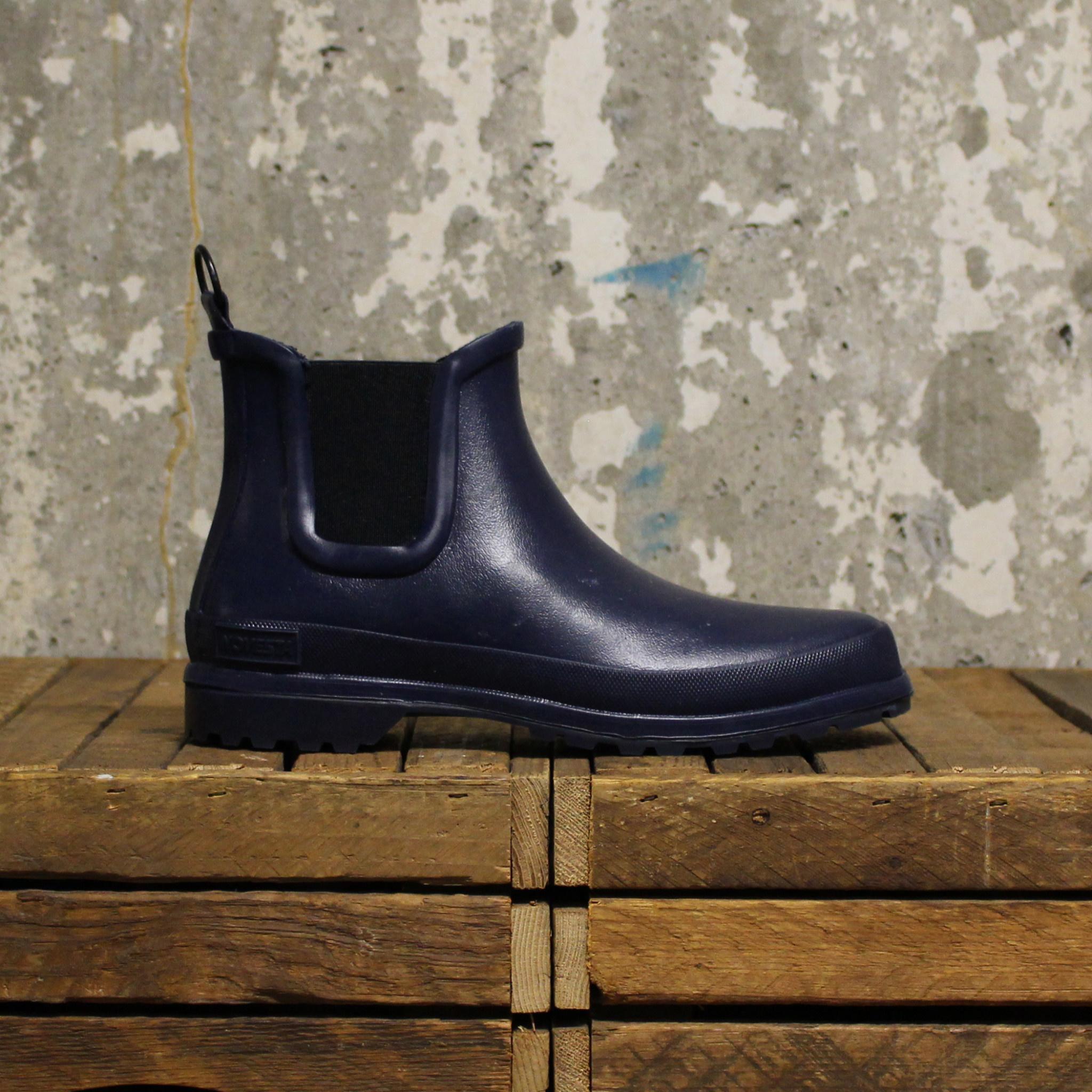 Novesta Novesta Chelsea Boot - Dark Blue