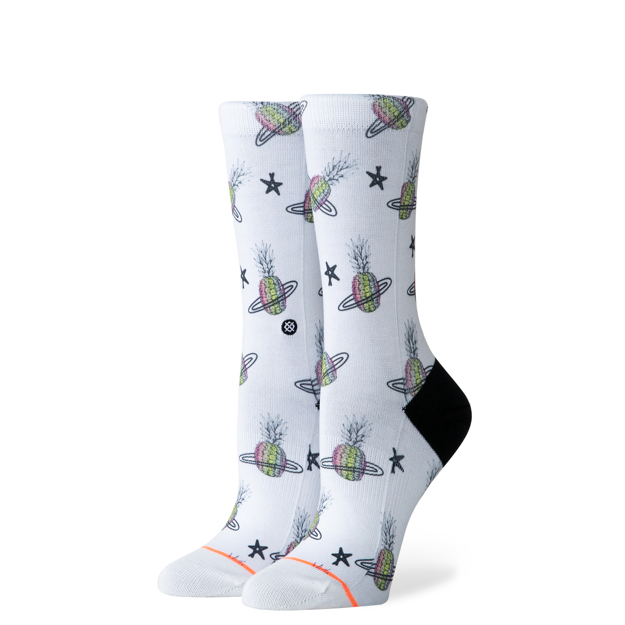 Stance Stance Pineapple Planet Crew - White