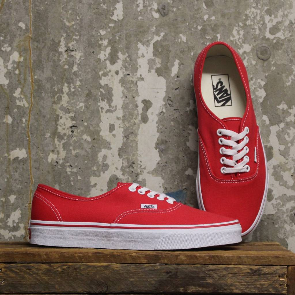 1db1122bd315 Vans Authentic (Classic) - Red - Bottes et Baskets