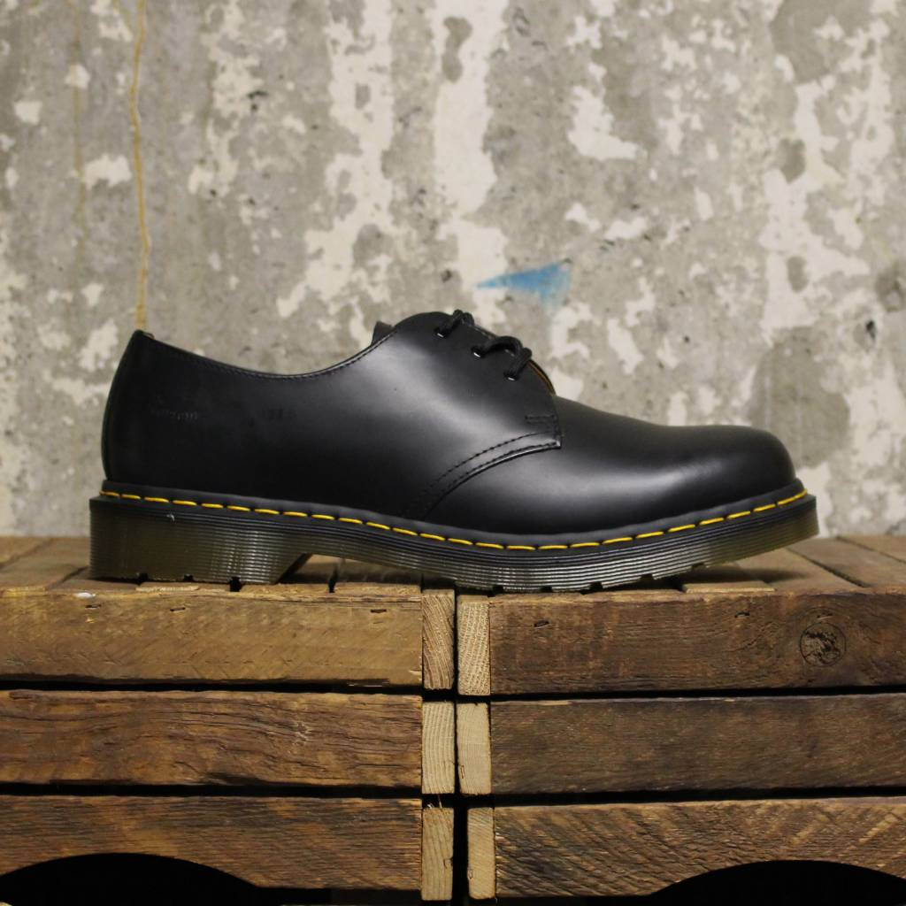 Martens Black Dr Martens Dr 1461 Martens 1461 Dr Shoessmooth Shoessmooth Black 1461 thrdCQs