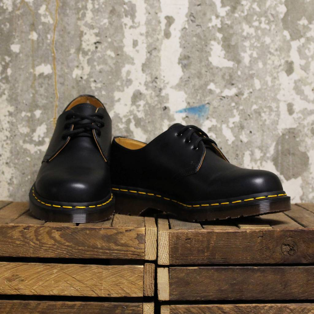 Dr Martens Dr Martens Vintage 1461 (Quilon) - Made In England - Black