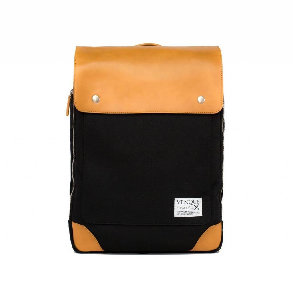 Venque Venque Flat Mini - Black/Tan