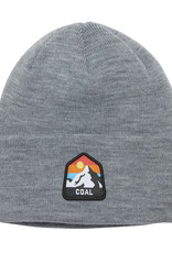 Coal Coal The Peak Beanie - Heather Grey