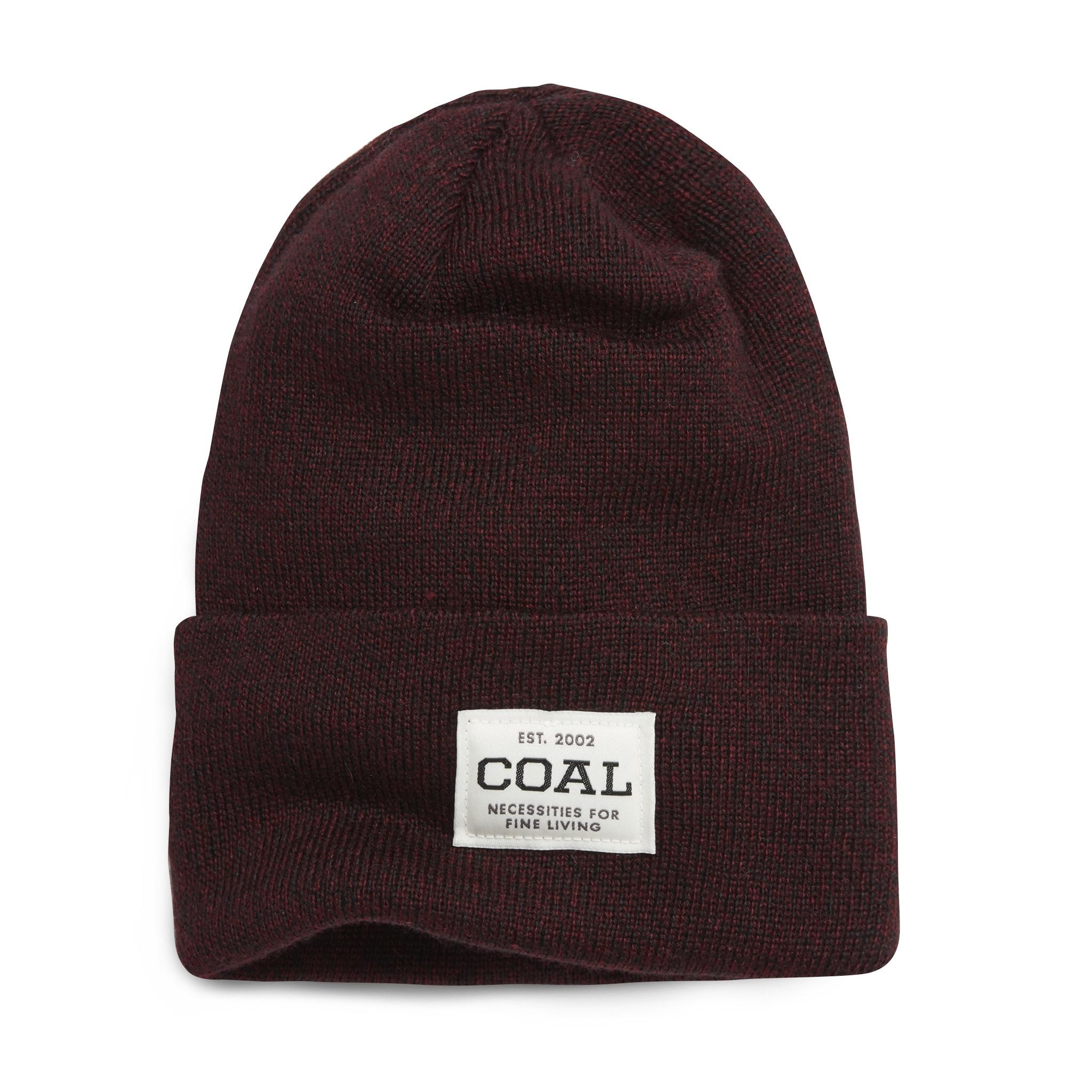 Coal Coal The Uniform - Dark Burgundy Marl