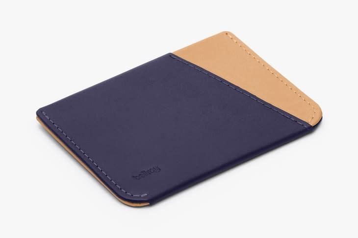 Bellroy Bellroy Micro Sleeve Wallet - Navy/Tan