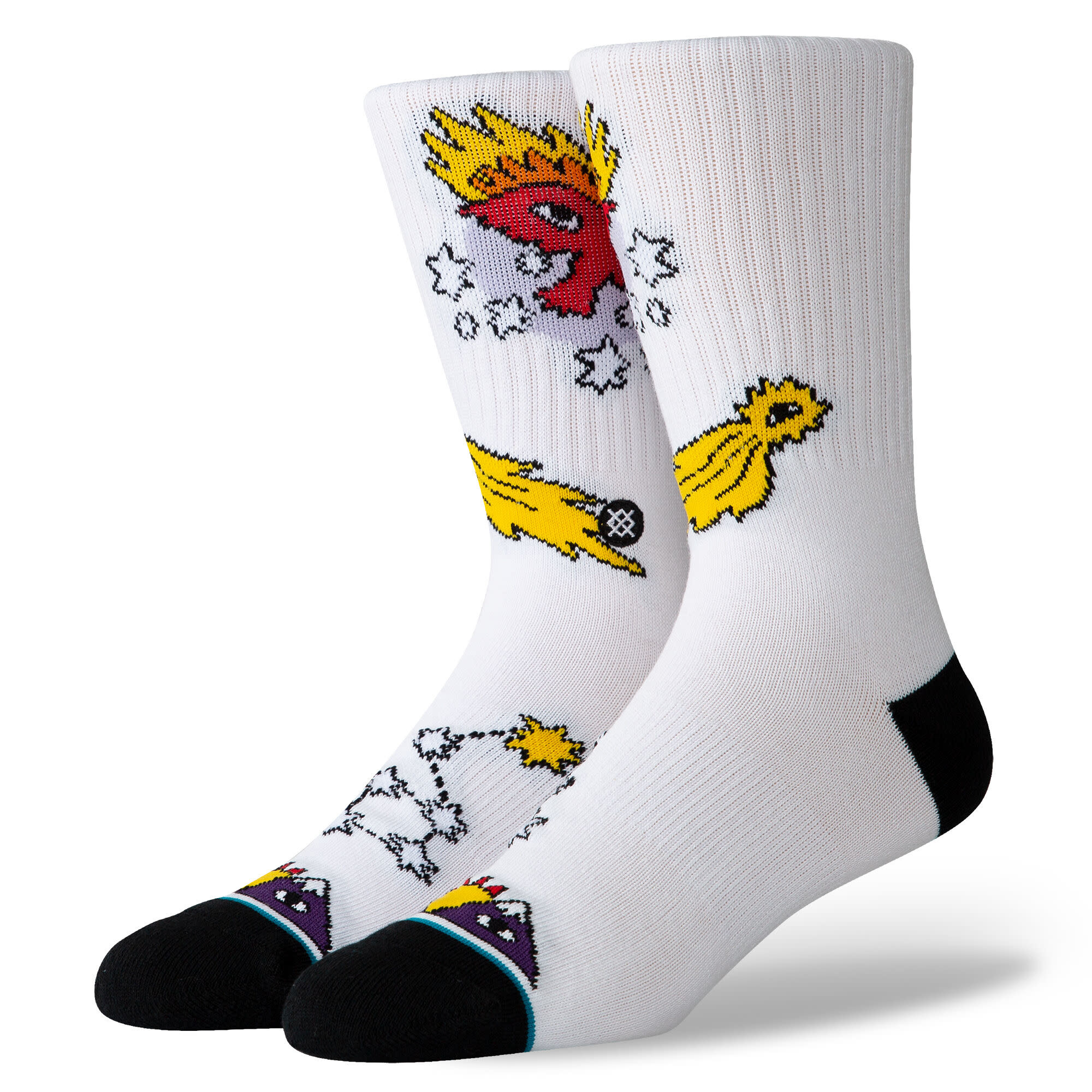 Stance Stance Eagle Star - White