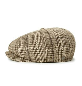Brixton Brixton Brood Snap Cap - Taupe/Brown