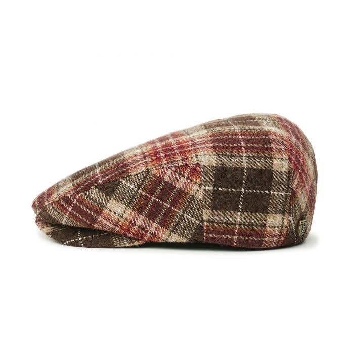 Brixton Brixton Hooligan Snap Cap - Brown/Maroon
