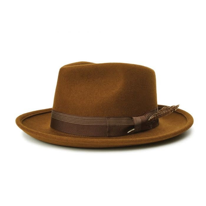 Brixton Brixton Swindle III Fedora - Coffee