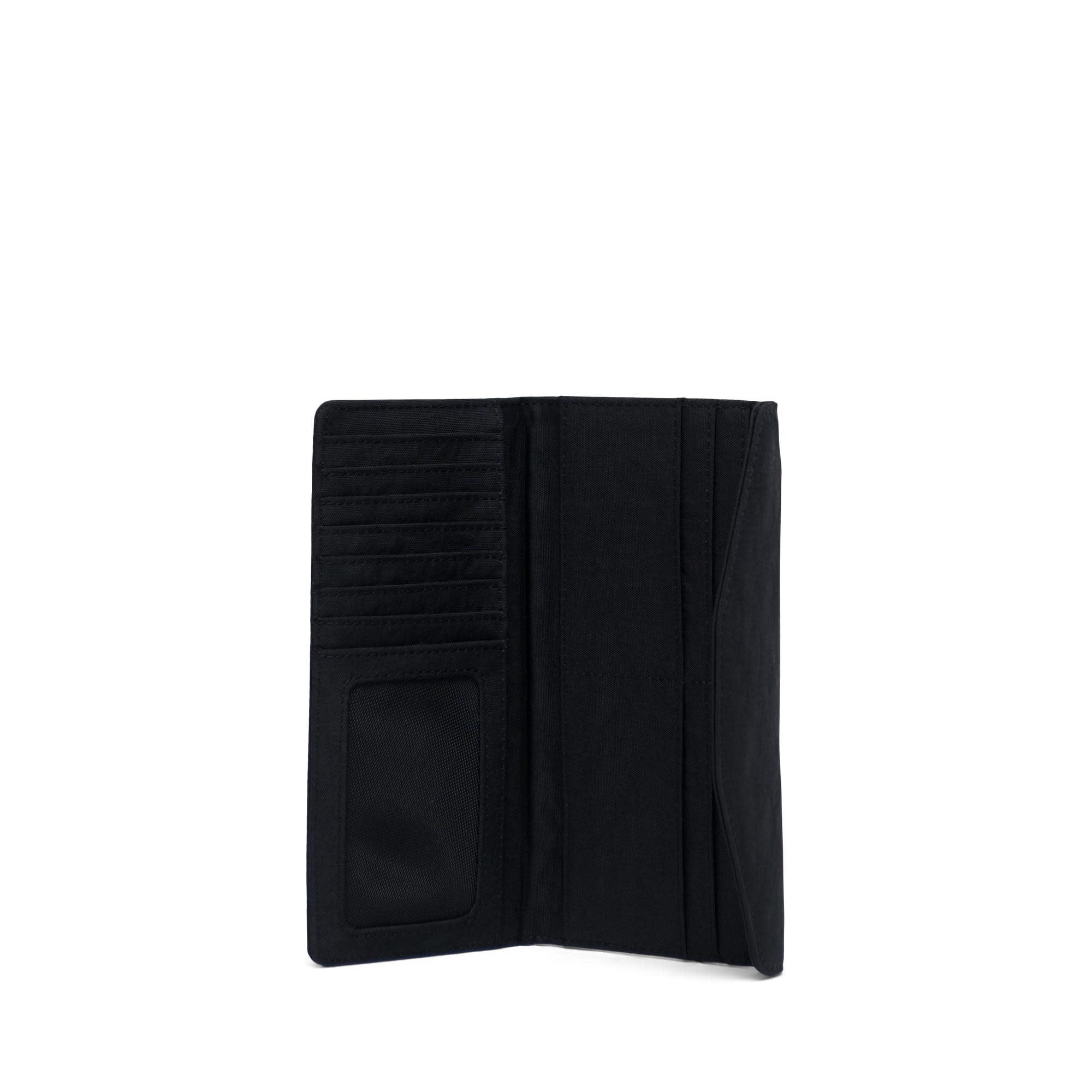 Herschel Supply Co. Herschel Orion Wallet - Large - Nylon/Leather Black