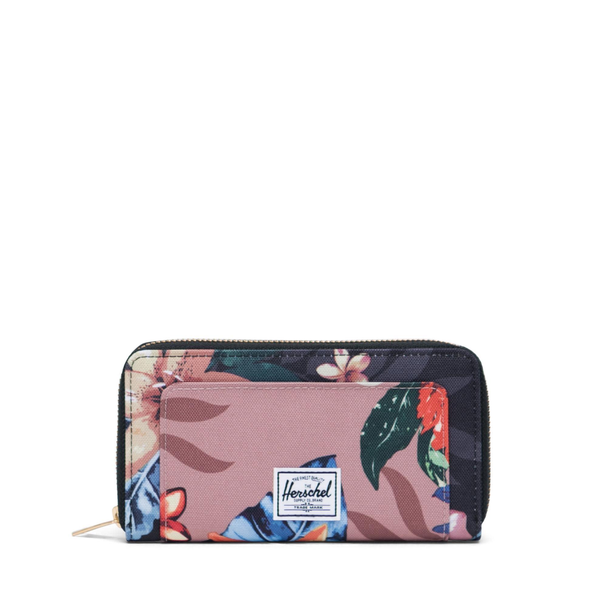 Herschel Supply Co. Herschel Thomas Wallet - Summer Floral Black/Summer Floral Ash Rose