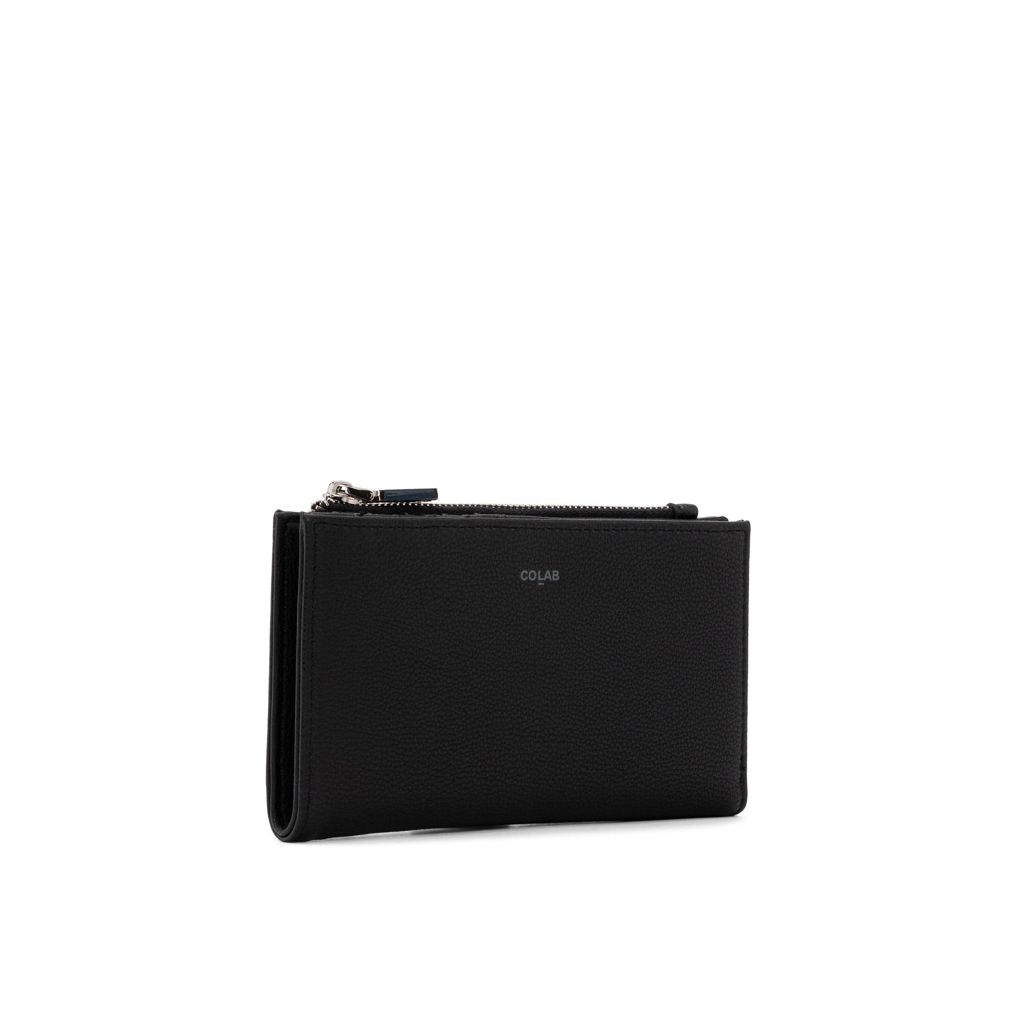 Colab Colab Pebble 2.0 Wallet (#6421) - Black