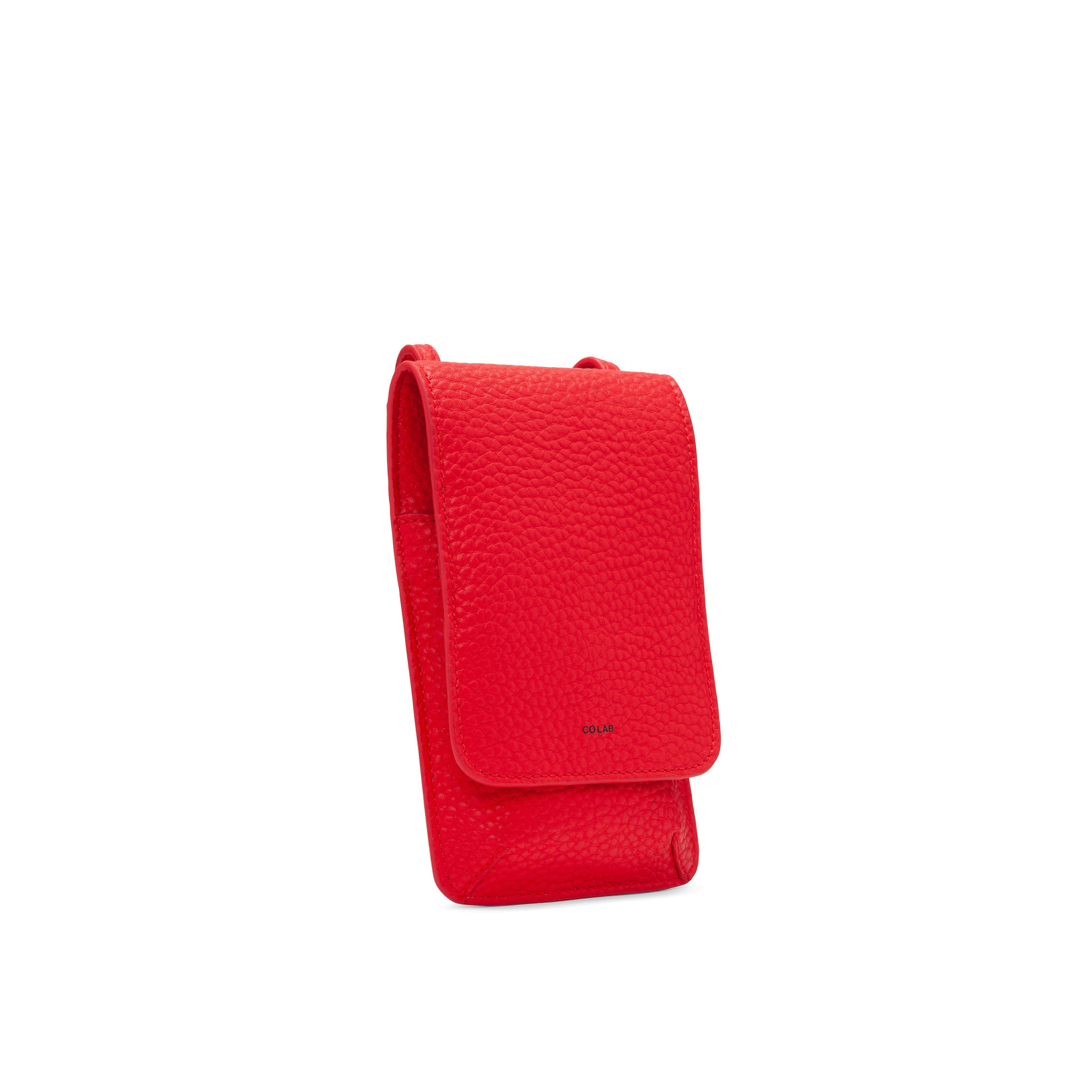 Colab Colab Pebble SLGs Flap Tech Crossbody (#6227) - Candy Apple