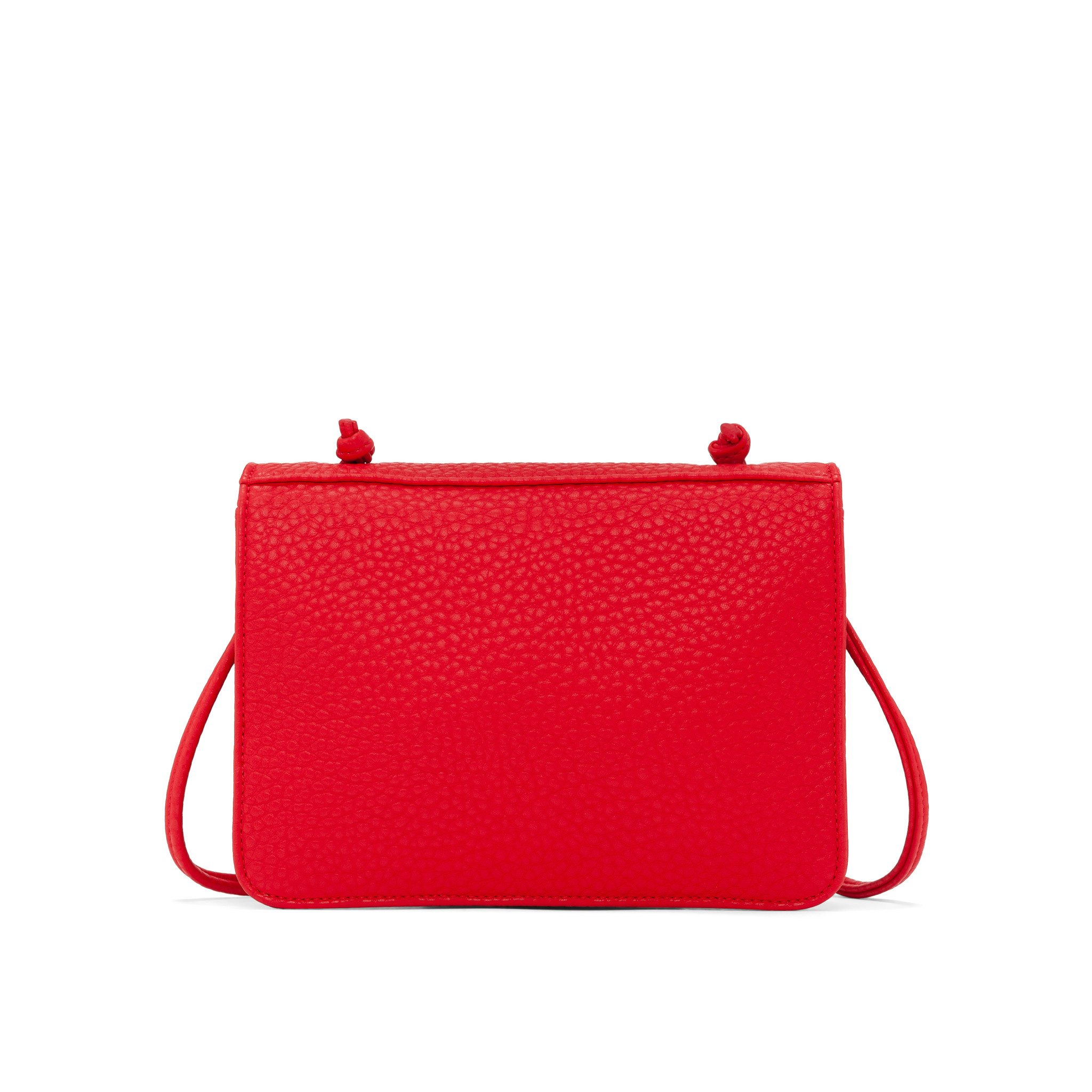 Colab Colab Pebble P.U. Smalls Crossbody Caryall (#6043) - Candy Apple