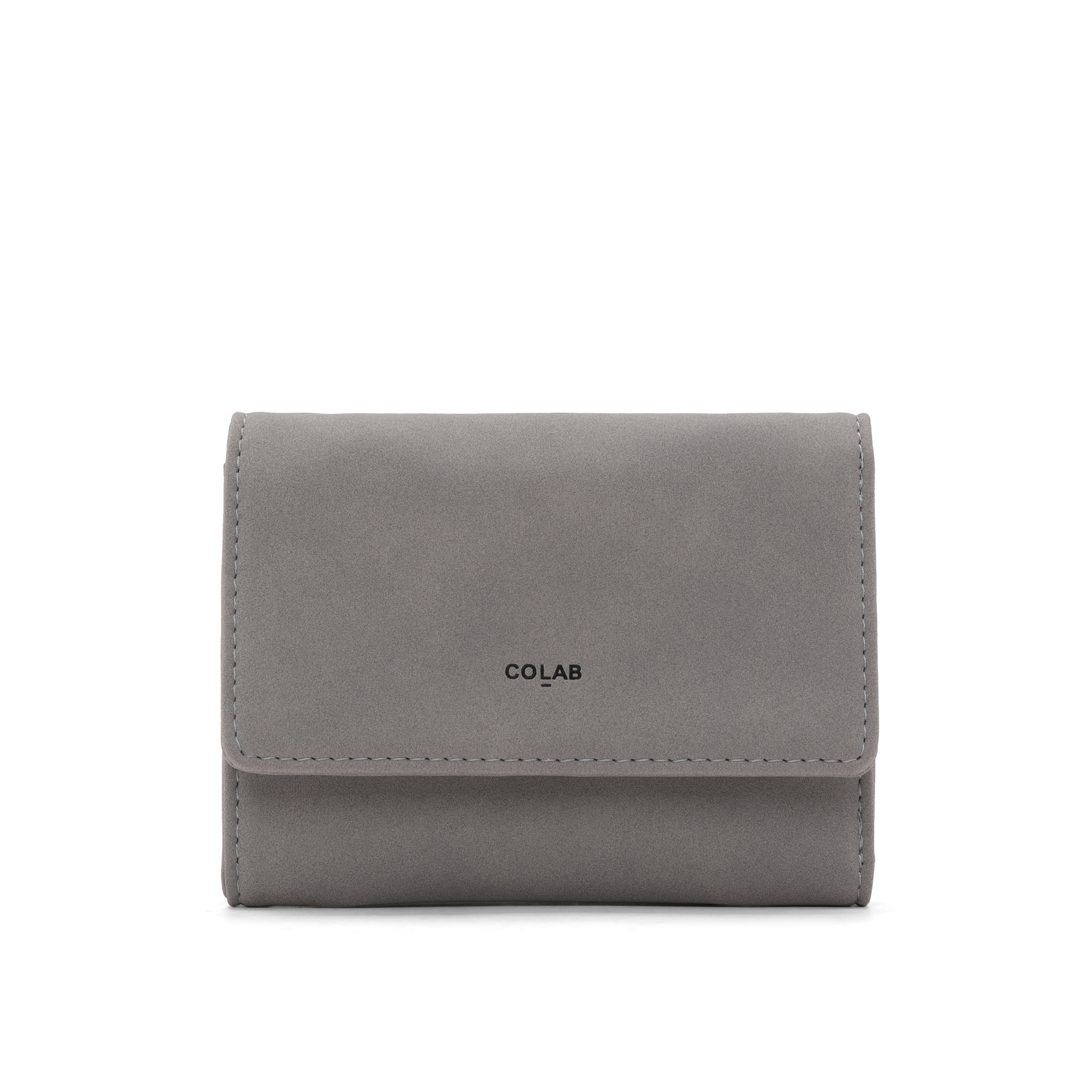 Colab Colab Nubuck Wallet (#6369) - Gray