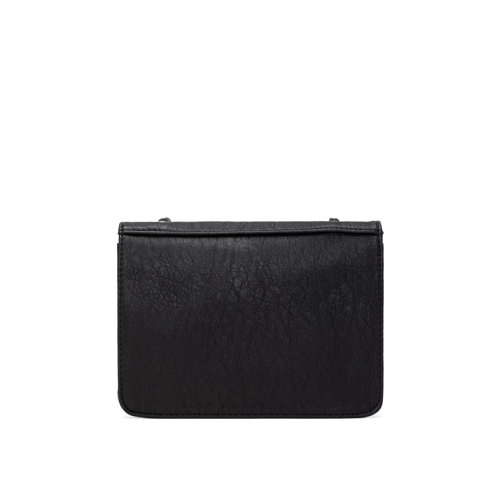 Colab Colab Faux Goat PU Crossbody Carryall (#6426) - Black