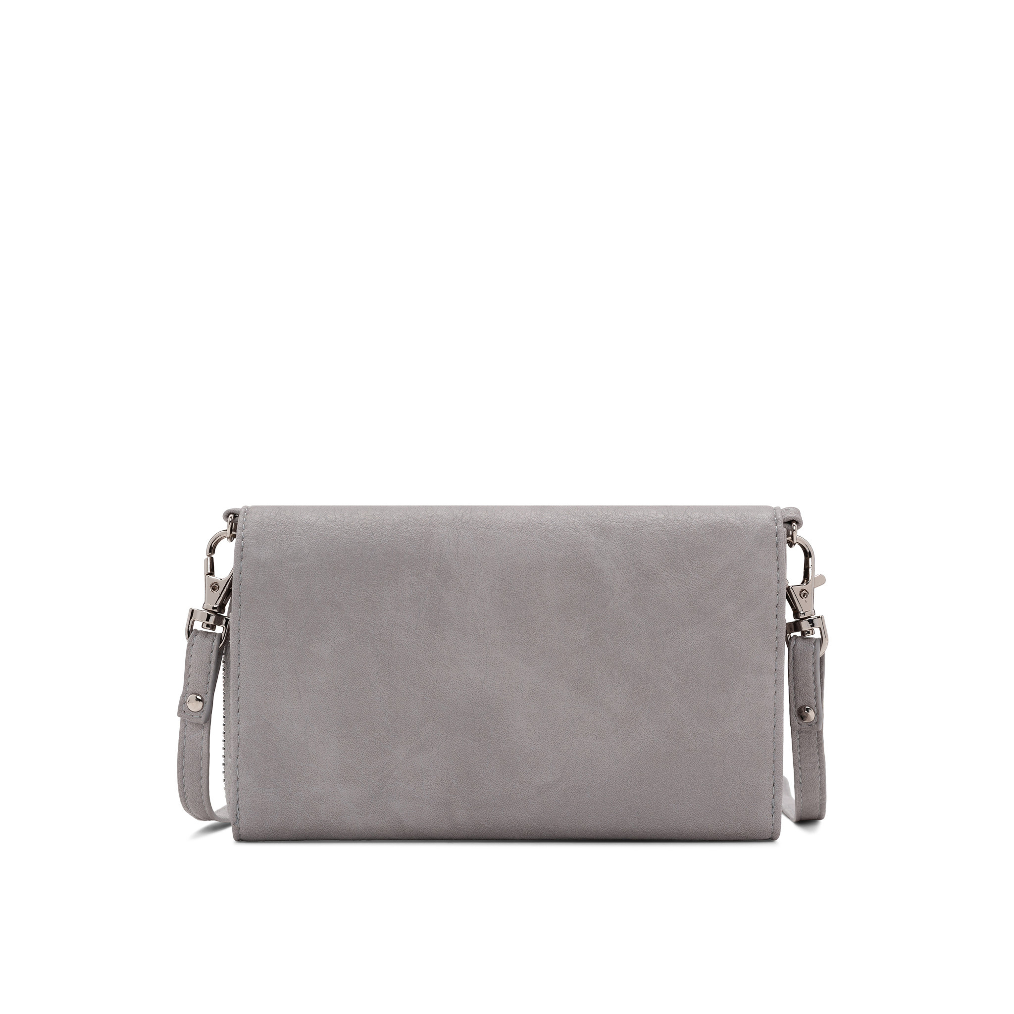 Colab Colab Washed Vintage 2.0 Wallet Crossbody (#6407) - Gray
