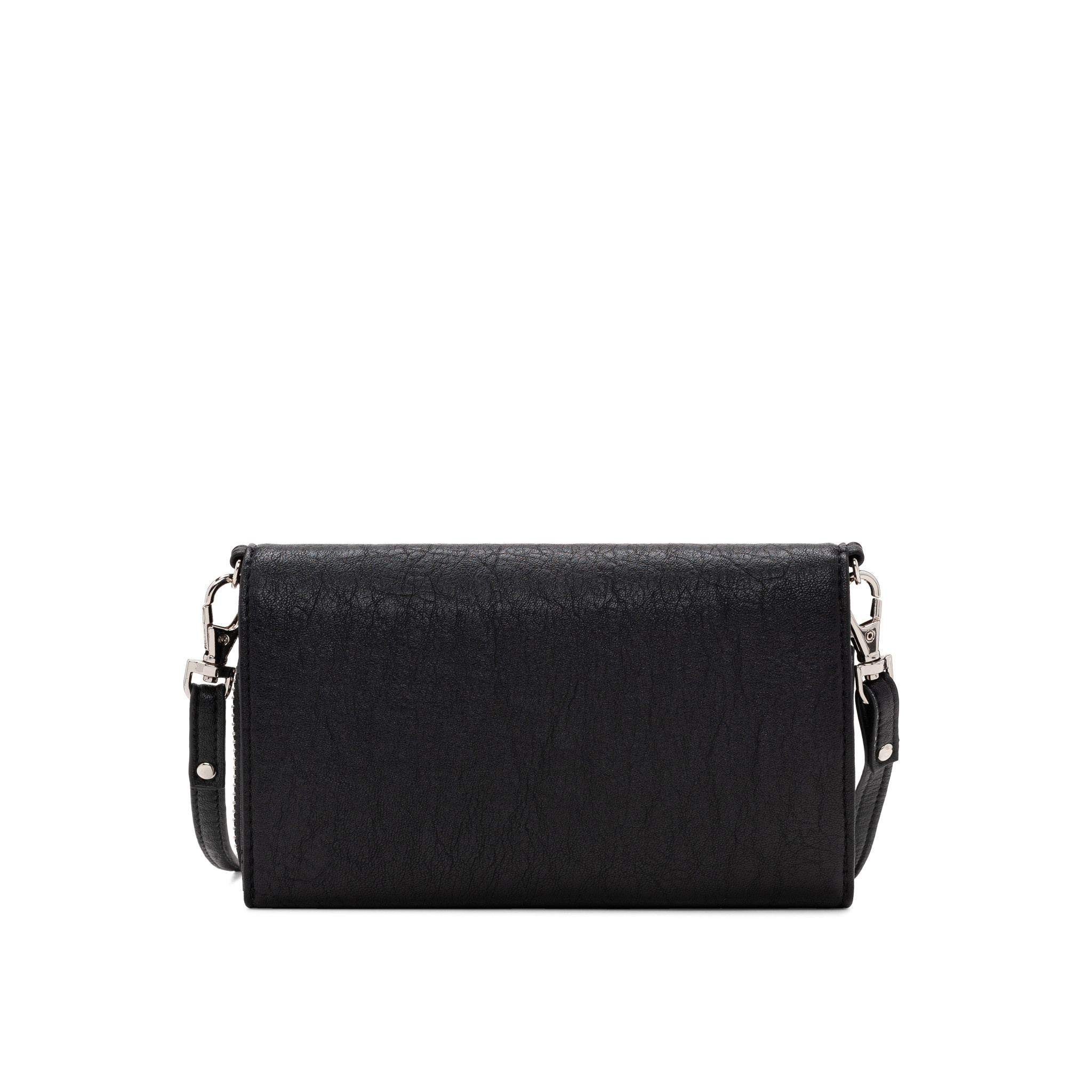 Colab Colab Washed Vintage 2.0 Wallet Crossbody (#6407) - Black