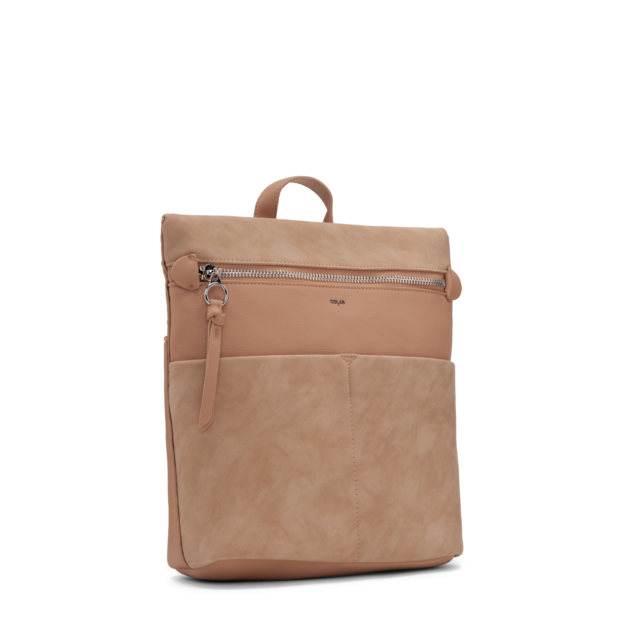 Colab Colab Suede PU Backpack (#6321) - Earth