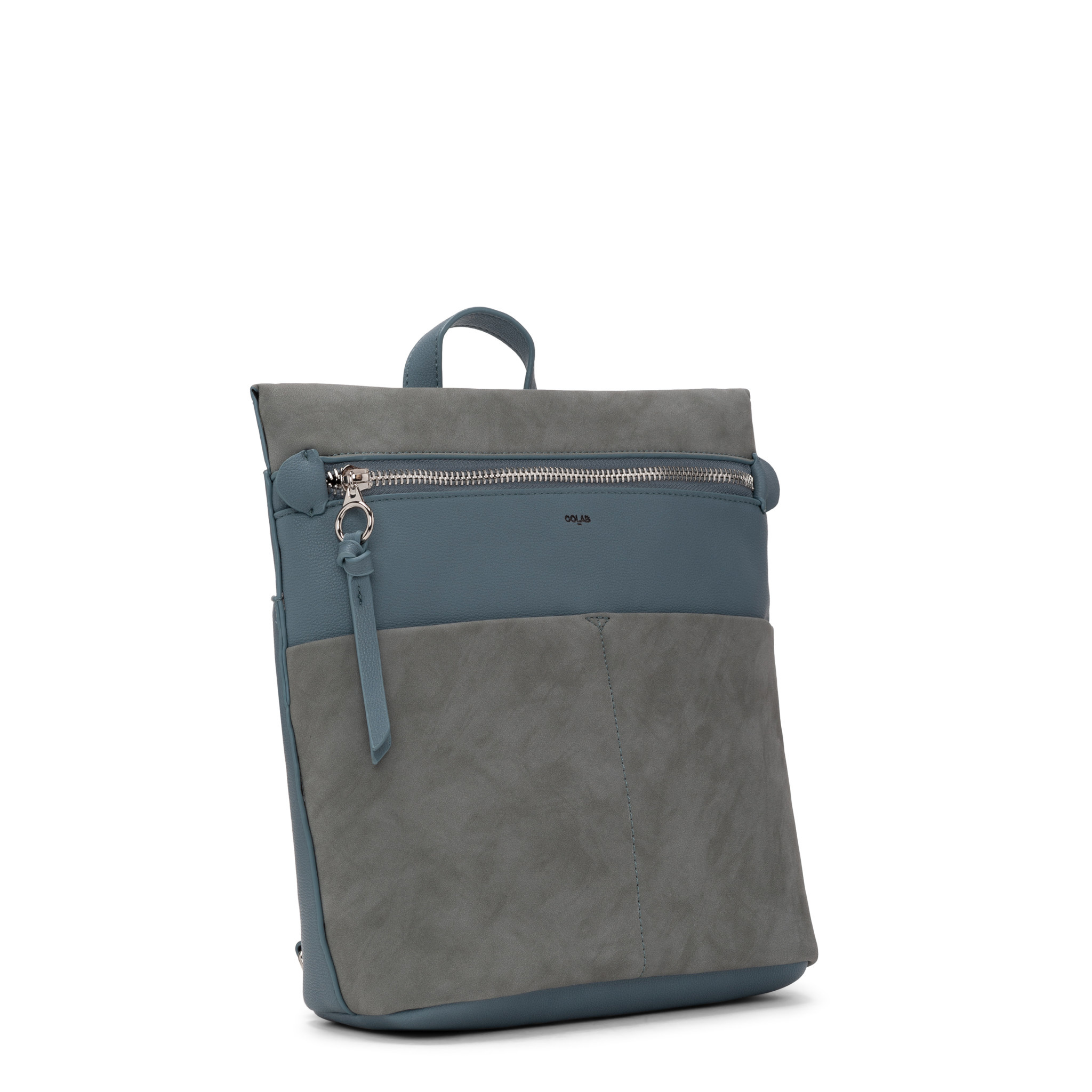 Colab Colab Suede PU Backpack (#6321) - Bluebird
