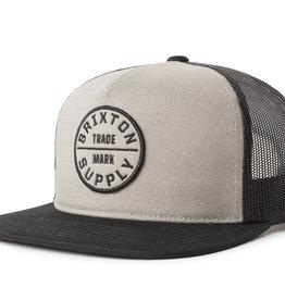 Brixton Brixton Oath III Mesh Cap - Grey/Black