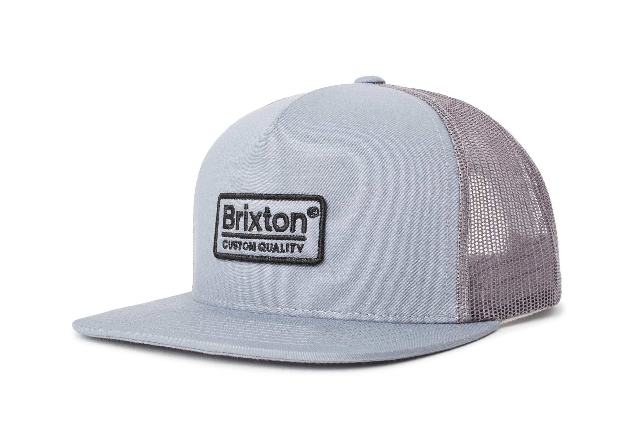 Brixton Brixton Palmer Mesh Cap - Grey/Black