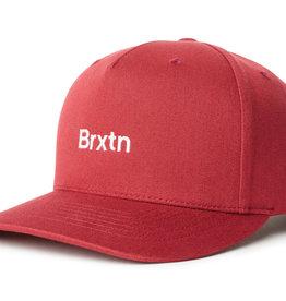 Brixton Brixton Gate II MP Snapback - Lava Red