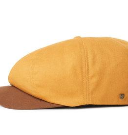 Brixton Brixton Report Snap Cap - Mustard/Brown