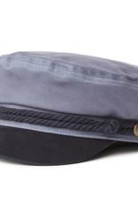 Brixton Brixton Fiddler Cap - Slate/Navy