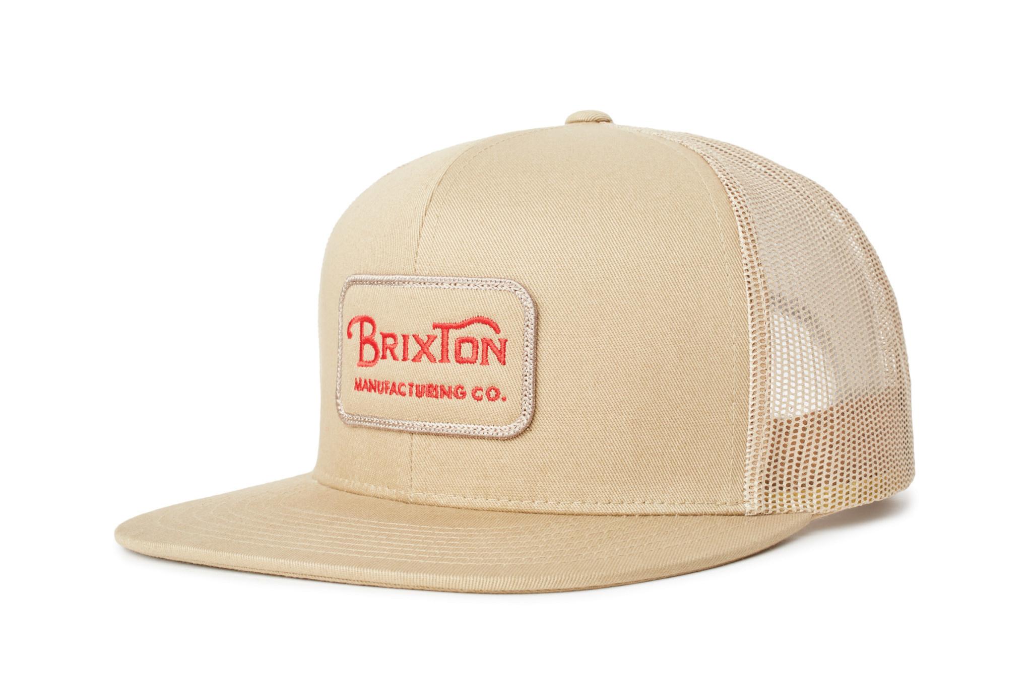 Brixton Brixton Grade Mesh Cap - Khaki