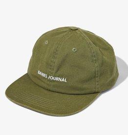 Banks Journal Banks Journal Label Hat - Seaweed