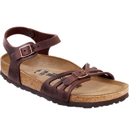 Birkenstock Birkenstock Bali Oiled Leather (Women - Regular) - Habana