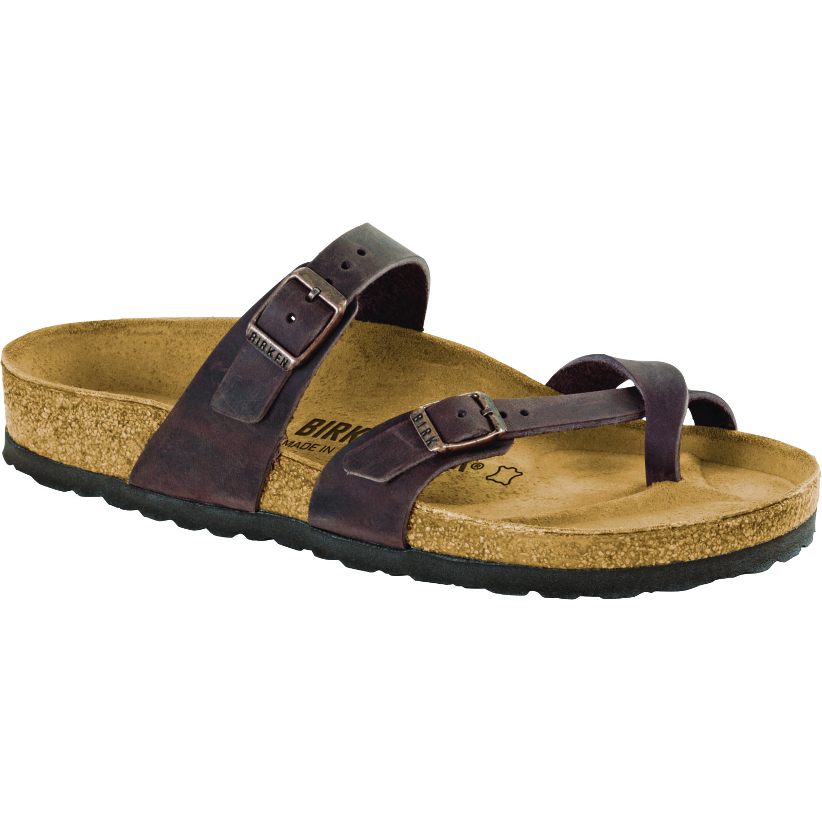 Birkenstock Birkenstock Mayari Oiled Leather (Women - Regular) - Habana