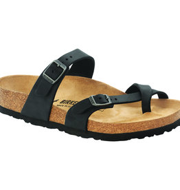 Birkenstock Birkenstock Mayari Oiled Leather (Women Regular) - Black