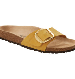 Birkenstock Birkenstock Madrid Big Buckle Nubuck (Women - Narrow) - Ochre