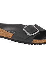 Birkenstock Birkenstock Madrid Big Buckle Oiled Leather (Women-Narrow) - Black/Silver