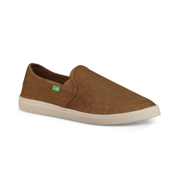 Sanuk Sanuk Vagabond Slip-On Sneaker - Tobacco
