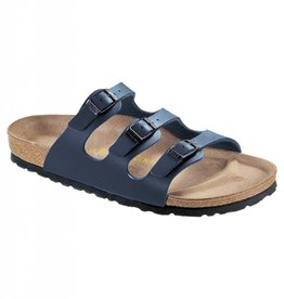 Birkenstock Birkenstock Florida Soft Footbed Birko-Flor (Women - Regular) - Blue