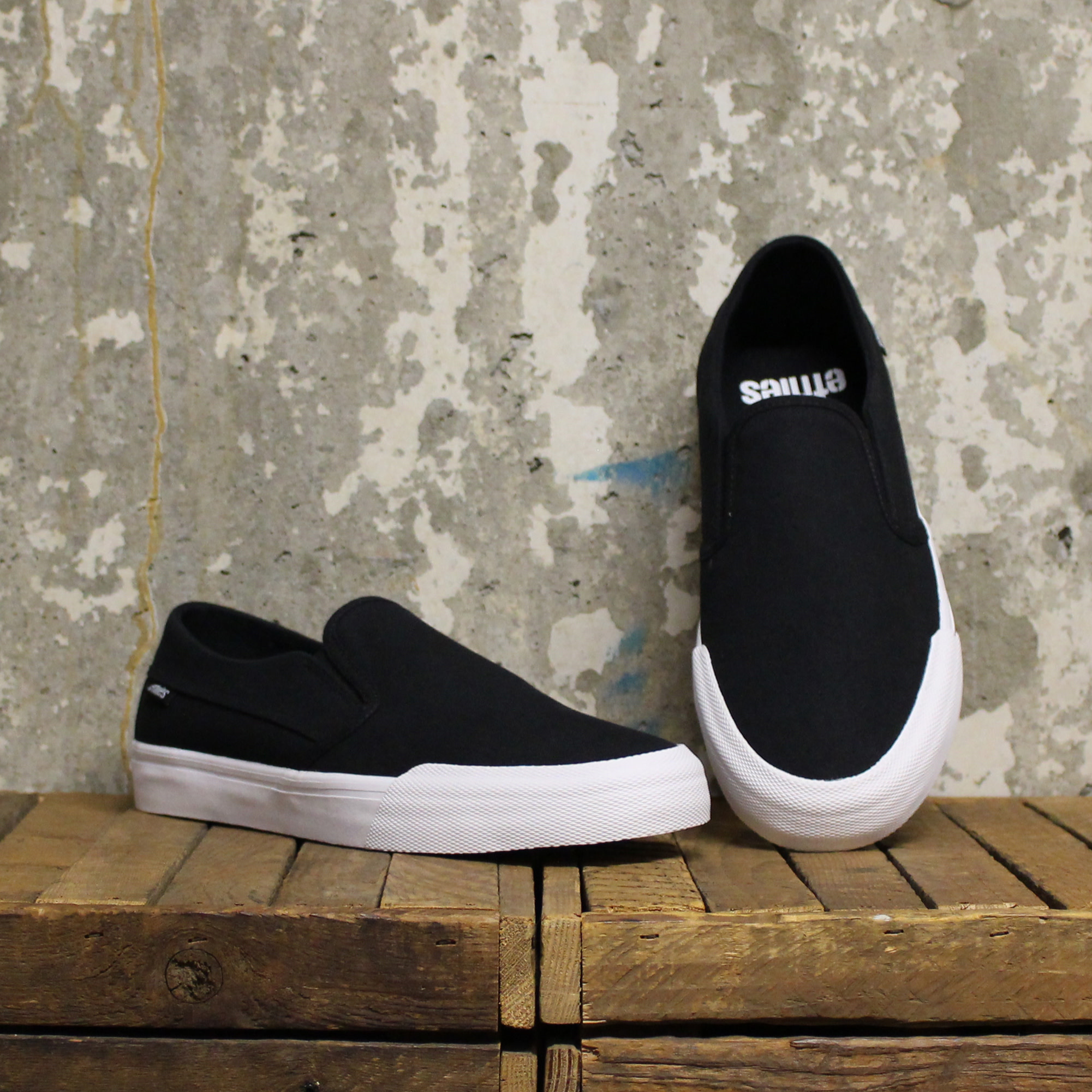 Etnies Etnies Langston - Black/White/Gum