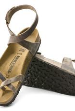 Birkenstock Birkenstock Yara Oiled Leather (Women - Regular) - Tobacco Brown