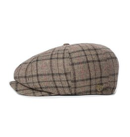 Brixton Brixton Brood LW Snap Cap - Dark Brown