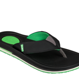 Sanuk Sanuk Beer Cozy 3 - Black/Green