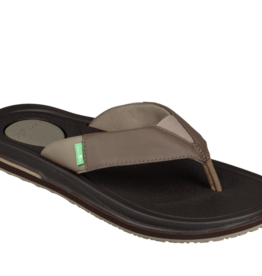 Sanuk Sanuk Beer Cozy 3 - Brown