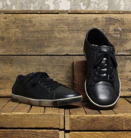 Softinos Softinos TOM Smooth Leather - Black/Black Stitch