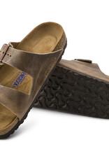 Birkenstock Birkenstock Arizona Soft Footbed -  Oiled Leather (Men - Regular) - Tobacco brown