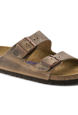 Birkenstock Birkenstock Arizona Soft Footbed -  Cuir Huilé (Hommes - Régulier) - Tobacco brown