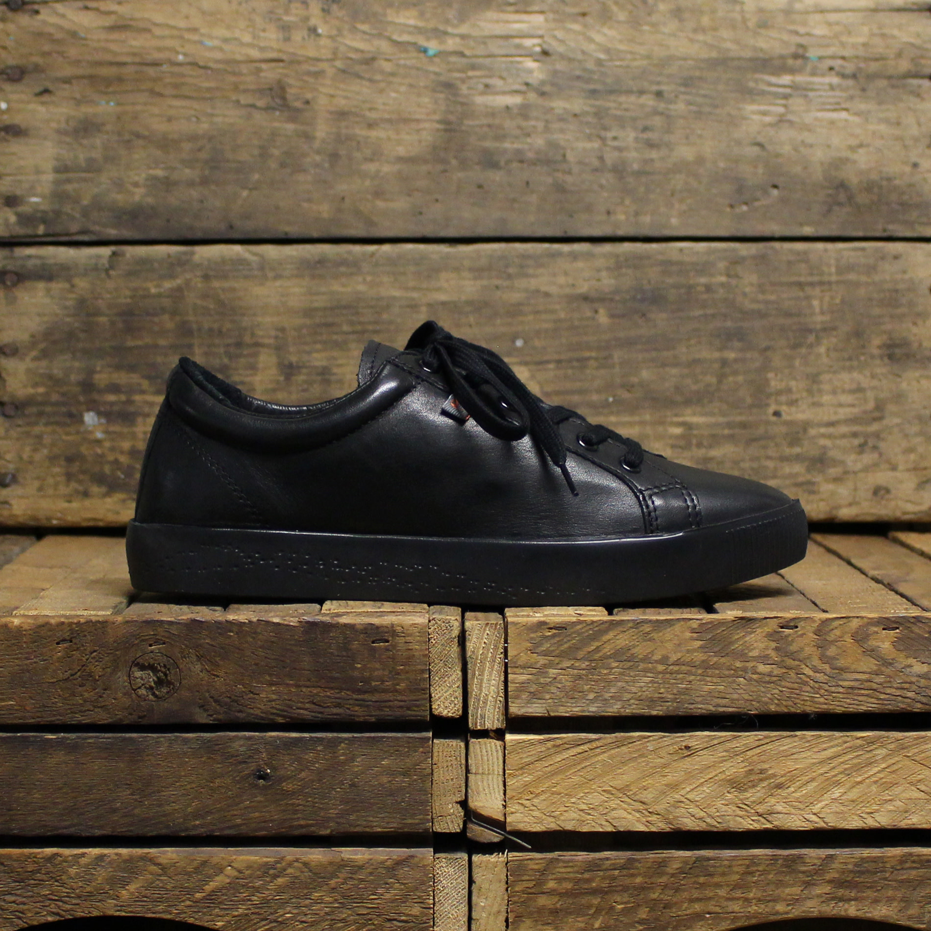 Softinos Softinos SURY Supple Leather - Black/Black Sole