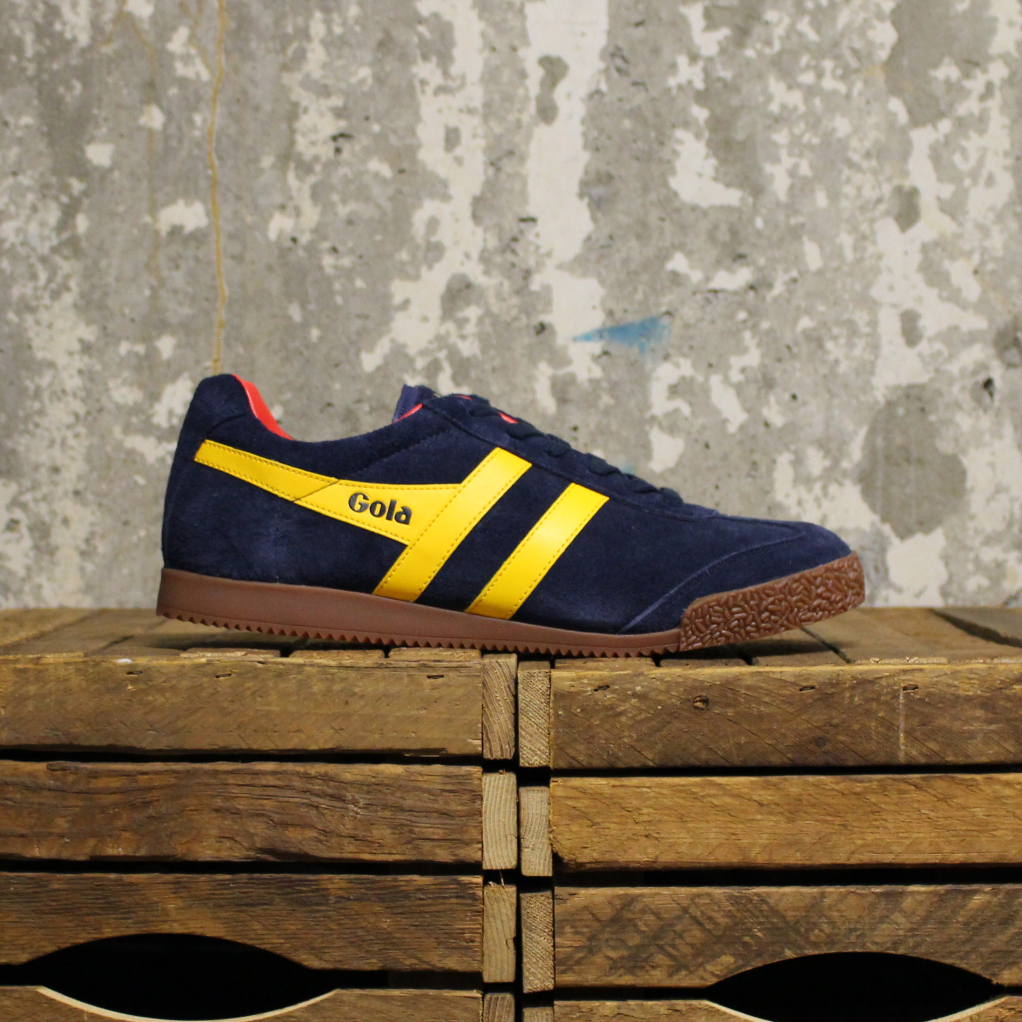 Gola Gola Ladies Harrier - Navy/Sun/Red