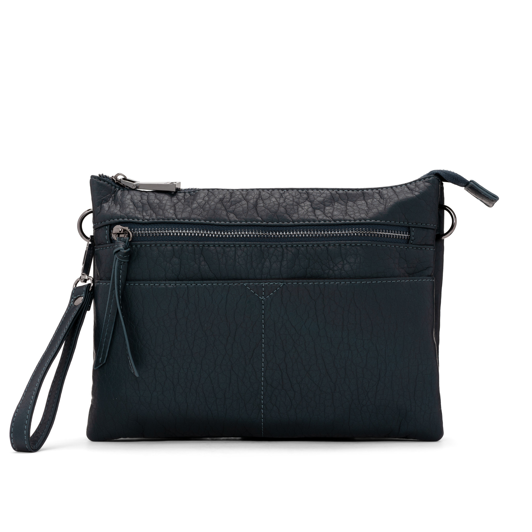 Colab Colab Washed Vintage Clutch Crossbody (#6347) - Black