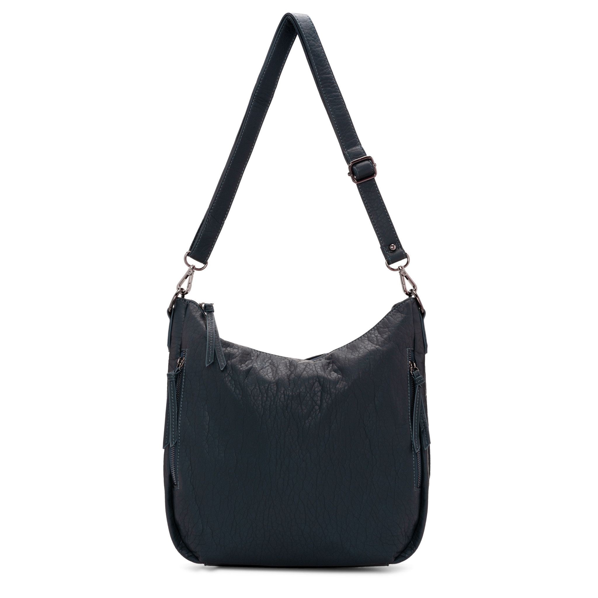 Colab Colab Megan Washed Vintage Shoulder Hobo (#6403) - Black